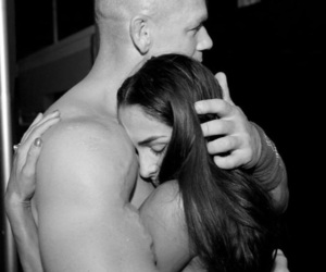 wwe, nikkibella, and johncena image