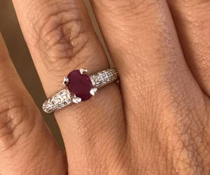 etsy, engagement rings, and vintage rings image