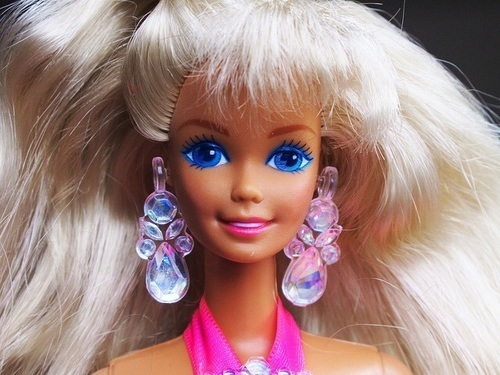 barbie, 90s, and doll image