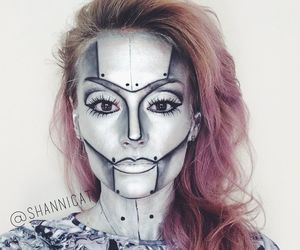 Halloween, pop art, and makeup image