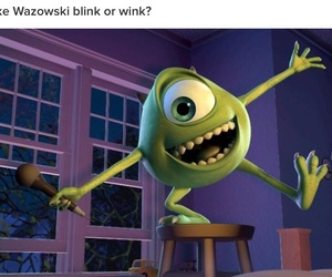 mike, disney, and monsters inc image
