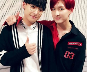 inseong, zuho, and sf9 image