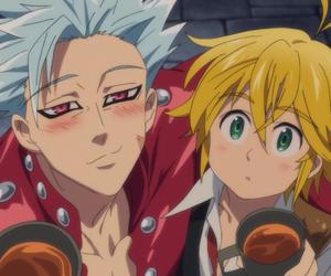 ban, cute, and nanatsu no taizai image