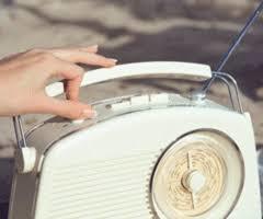 radio, gif, and vintage image