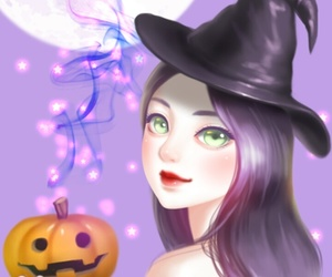 Enakei, Halloween, and beauty image