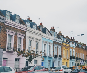 colourful, pastel, and street image
