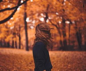 autumn, freedom, and girl image