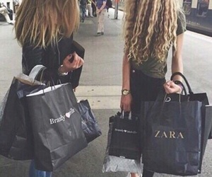 friends, shopping, and style image