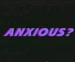 anxious, purple, and grunge image