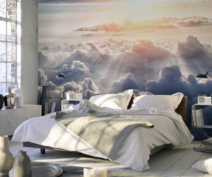 bedroom, design, and home decor image