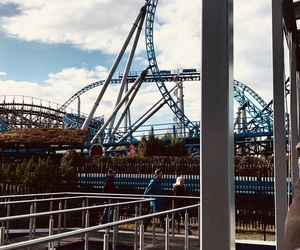 coaster, germany, and looping image
