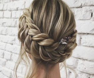 hair, cute, and styles image