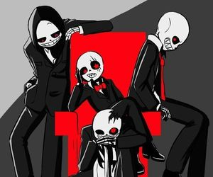 underfell, dusttale, and horrortale image