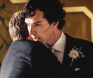 johnlock and sherlock image