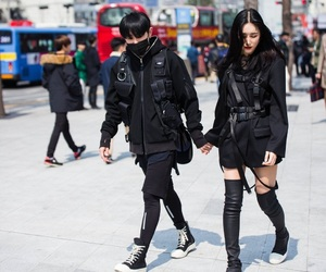 asian, clothes, and couple image