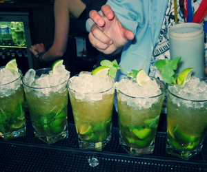 mojito and tequila image