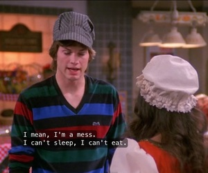 cant sleep, jackie, and kelso image