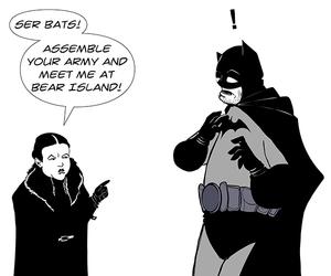 batman, dccomics, and lyanna mormont image
