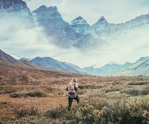 mountains, hiking, and travel image