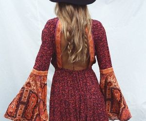 fashion, boho, and dress image
