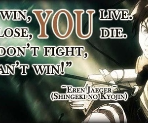 quotes, attack on titan, and eren image