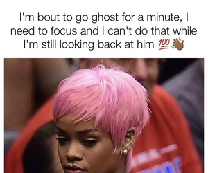 break up, focus, and ghost image