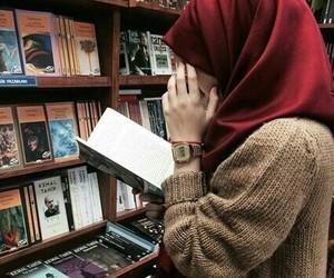 hijab and book image