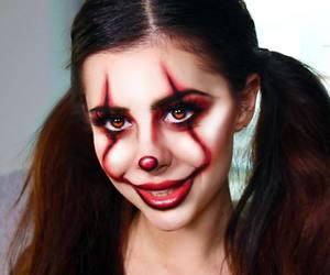 autumn, clown makeup, and clowns image