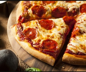 pizza, delicious, and food image