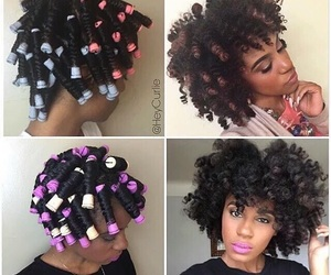 hair, braid out, and hairstyle image