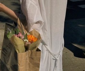 clothes, flowers, and soft image