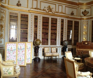 king, library, and palace image