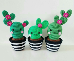 cute, cactus, and decoration image