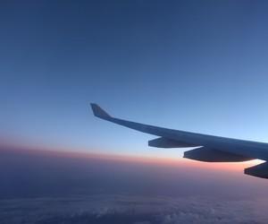 beautiful, dawn, and sunset image