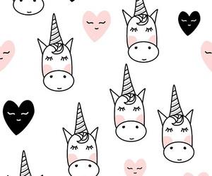 unicorn, drawing, and kawaii image