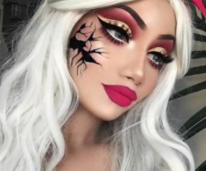 Halloween, makeup, and doll image