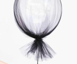 balloon, black, and tumblr image