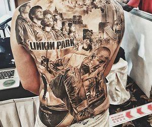 Tattoos, linkin park, and chester bennington image
