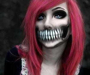 Halloween, makeup, and emo image