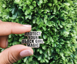 black girl, black women, and magic image