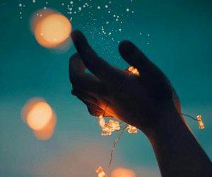 inspiration, light, and night image