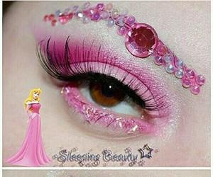 disney, makeup, and princess image