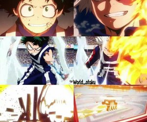 anime, boys, and fight image