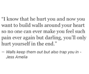 abandoned, broken heart, and quotes image