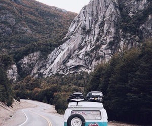travel, mountains, and roadtrip image