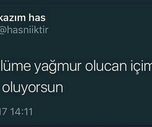 twitter, turkce soz, and yagmur image
