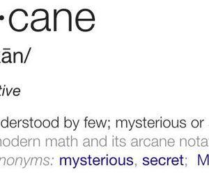 Words From Acrane