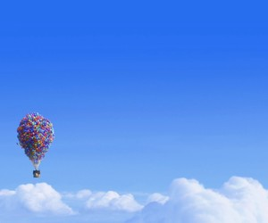 up, disney, and sky image