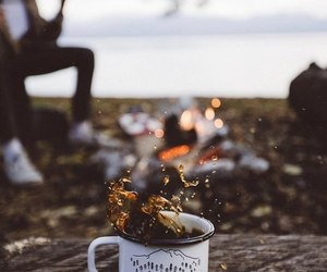 coffee, fall, and autumn image