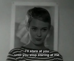 quotes, movie, and stare image